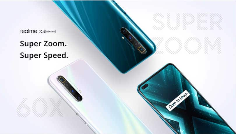 Realme X3 SuperZoom debuts with Snapdragon 855+