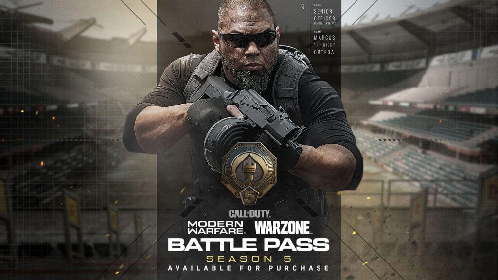 Call Of Duty Modern Warfare & Warzone Season 5