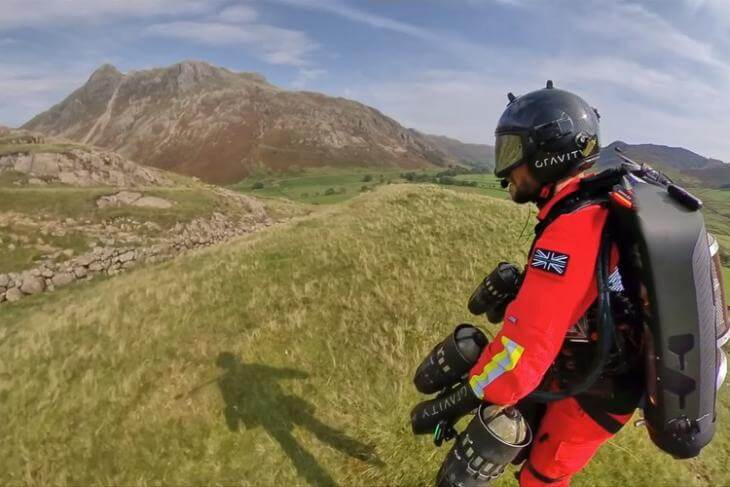 UK Ambulance Services are Testing a Rescue Jet Suit
