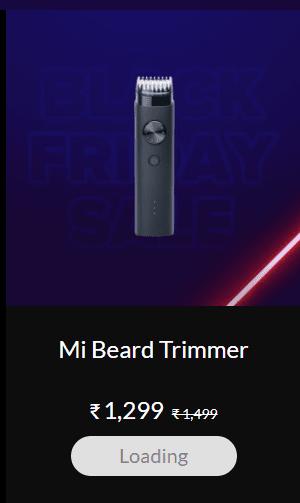 Mi Beard Trimmer