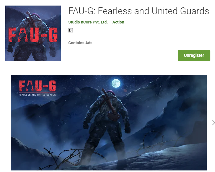 FAU-G Confirmed to Launch Pre-register Start