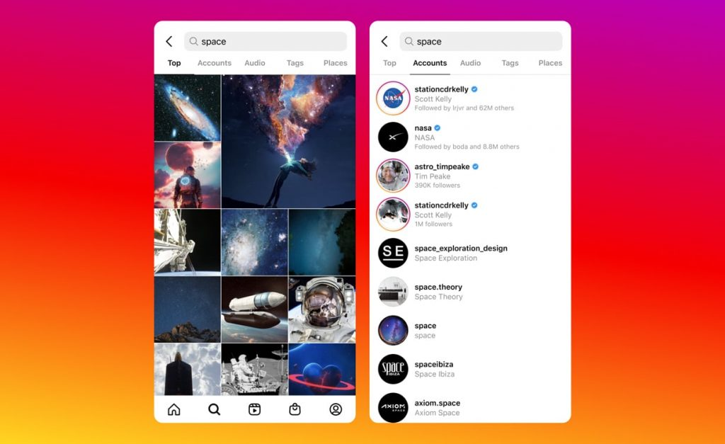 How Instagram Search Works: All You Need to Know About